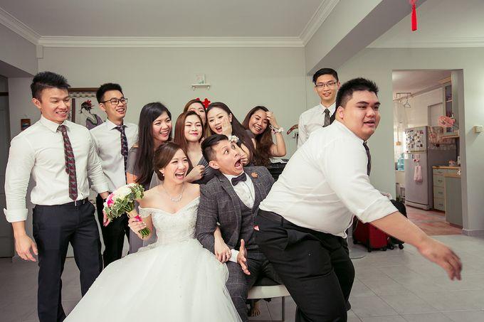 Wedding day of Jackson & Wen Xia by Odelia Bridal - 014