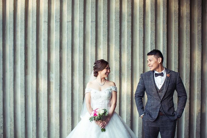 Wedding day of Jackson & Wen Xia by Odelia Bridal - 016
