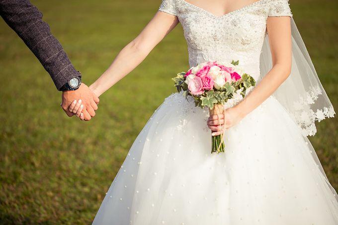 Wedding day of Jackson & Wen Xia by Odelia Bridal - 017