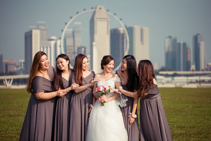 Wedding day of Jackson & Wen Xia by Odelia Bridal - 018