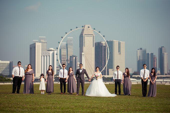 Wedding day of Jackson & Wen Xia by Odelia Bridal - 019