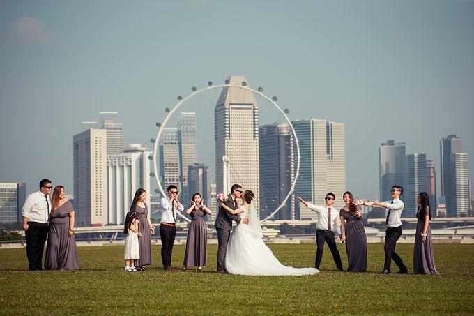 Wedding day of Jackson & Wen Xia by Odelia Bridal - 020