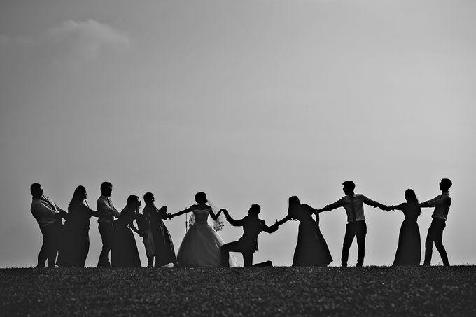 Wedding day of Jackson & Wen Xia by Odelia Bridal - 021