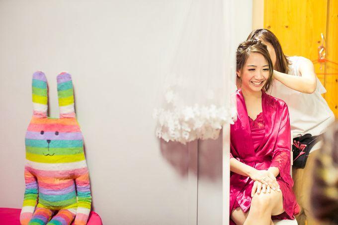Wedding day of Jackson & Wen Xia by Odelia Bridal - 002