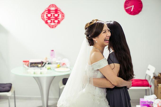 Wedding day of Jackson & Wen Xia by Odelia Bridal - 003