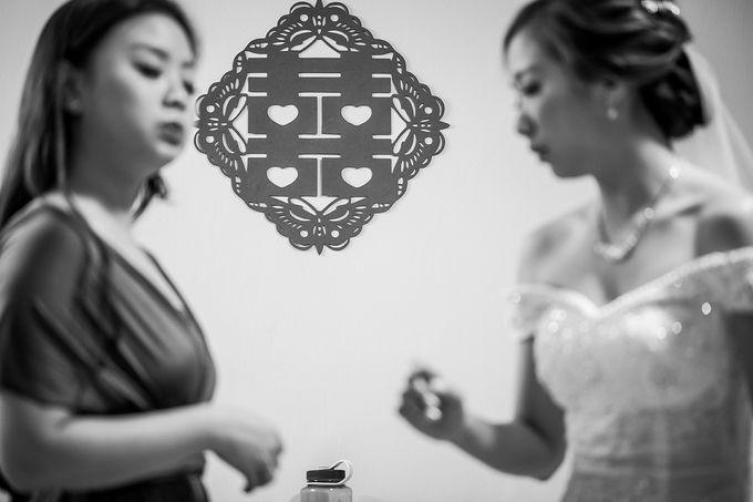 Wedding day of Jackson & Wen Xia by Odelia Bridal - 004