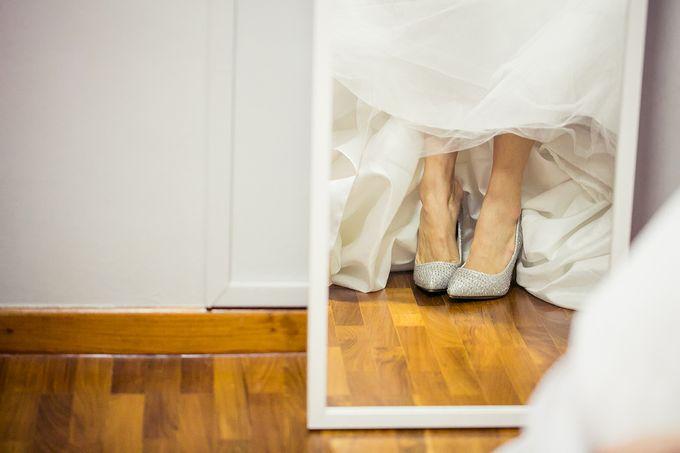 Wedding day of Jackson & Wen Xia by Odelia Bridal - 005