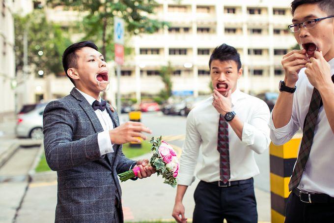 Wedding day of Jackson & Wen Xia by Odelia Bridal - 006