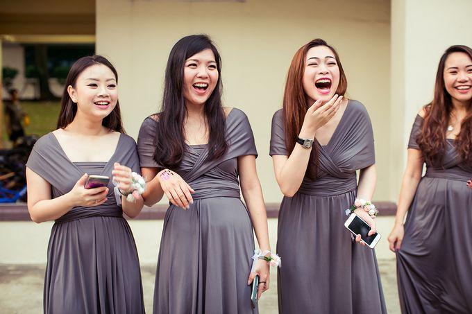 Wedding day of Jackson & Wen Xia by Odelia Bridal - 007
