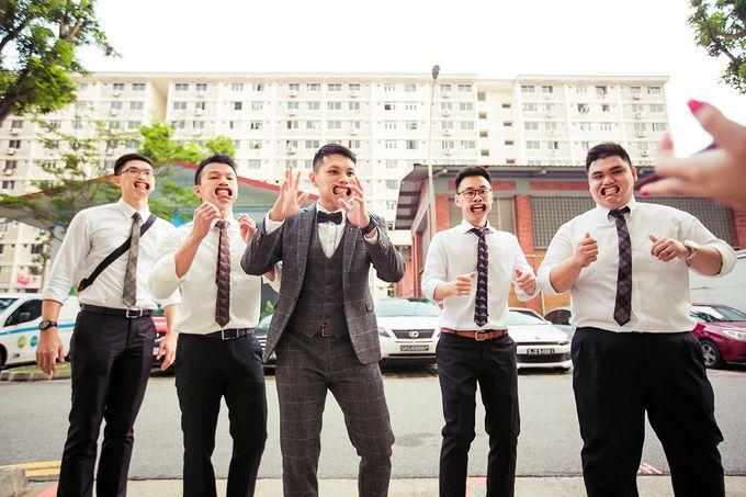 Wedding day of Jackson & Wen Xia by Odelia Bridal - 008