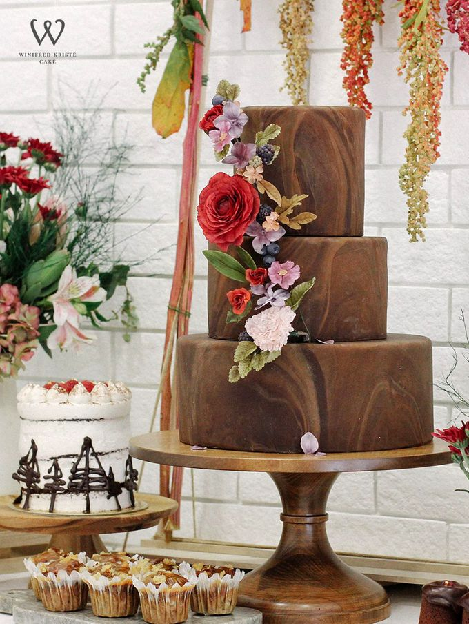 Clients wedding cakes by Winifred Kristé Cake - 011