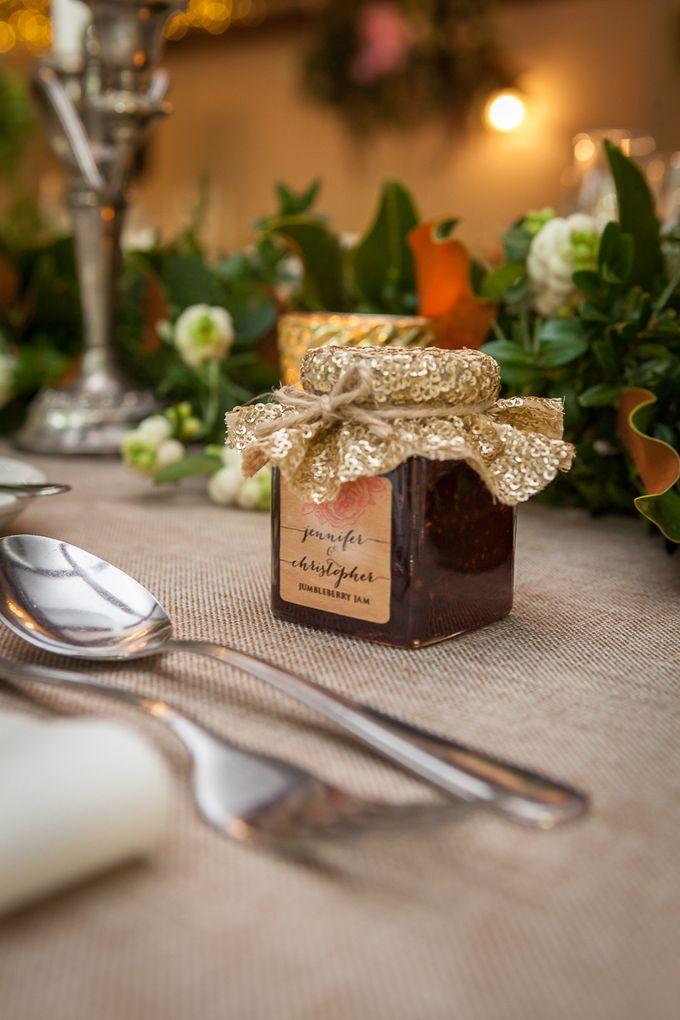 Jenn & Chris' Wedding at Chateau Wyuna by One Wedding Wish - 013