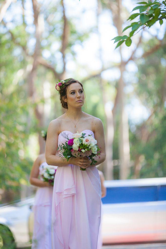 Jenn & Chris' Wedding at Chateau Wyuna by One Wedding Wish - 003