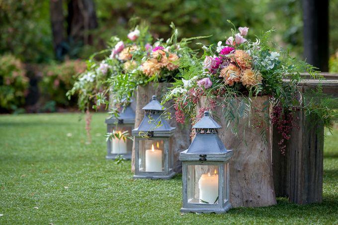 Jenn & Chris' Wedding at Chateau Wyuna by One Wedding Wish - 001