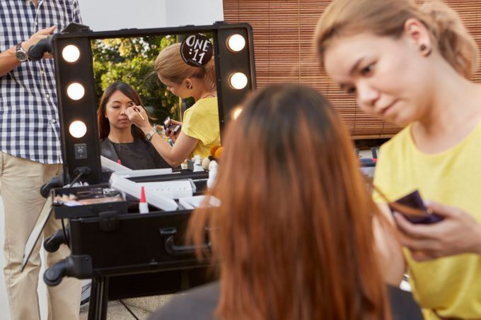 Alkaff Mansion Wedding Soiree by One:11 Instant Make Up - 005
