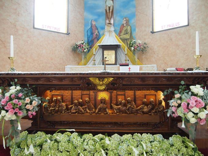 church decoration by Sweetbella Florist & Decoration - 010