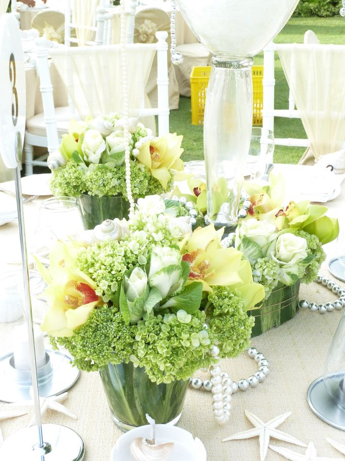 Tropical Sea - Adenan & Angeline by Puri Amanda Flower Boutique - 012
