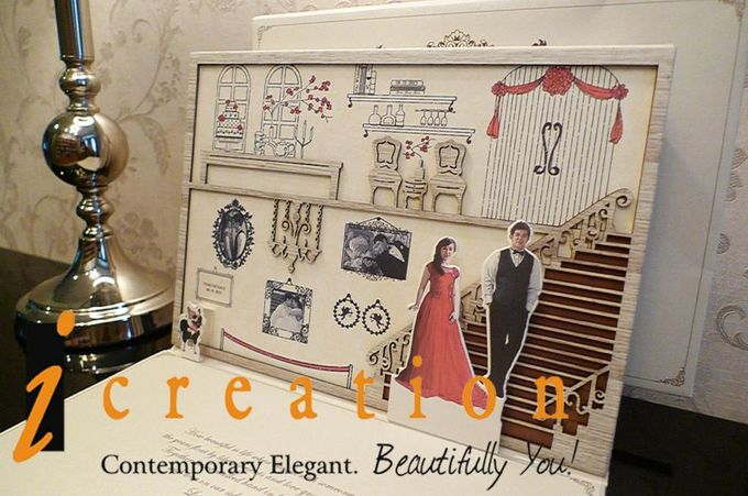 3 Dimensional Wedding Invitation by Icreation - 005