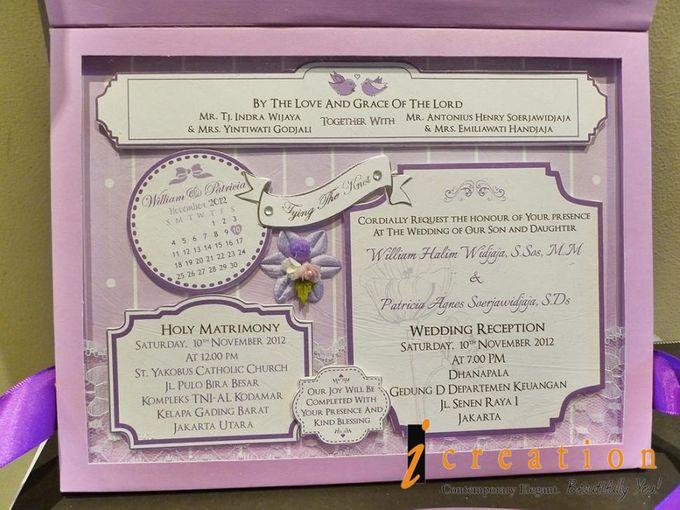 3 Dimensional Wedding Invitation by Icreation - 006