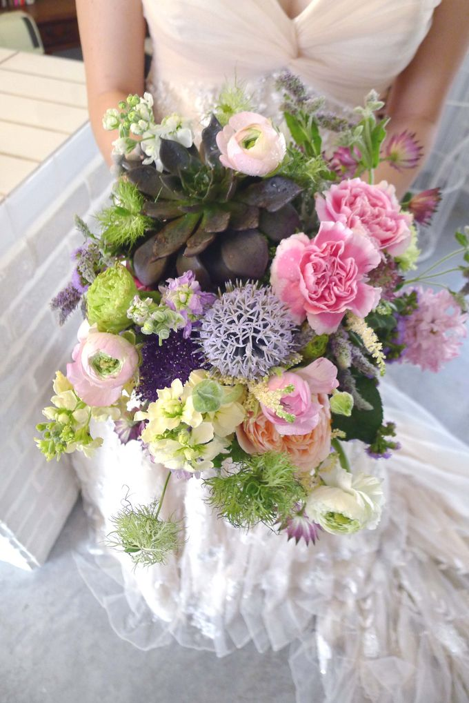 Bridal Bouquets by One Olive - 013