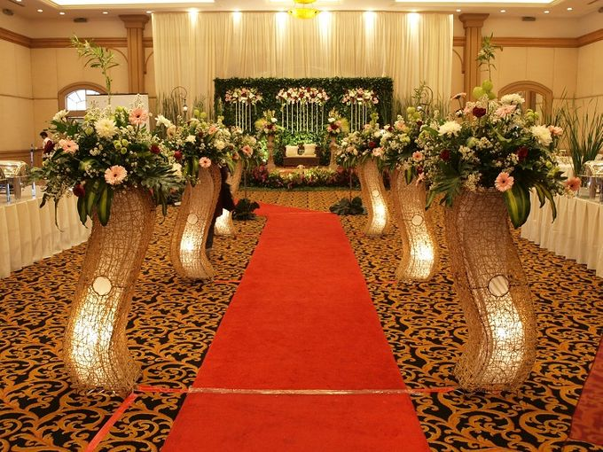 Wedding at MFH by Raffles Hills Cibubur - On Green Garden Venue - 003