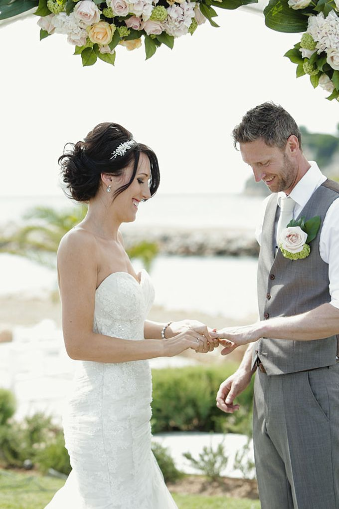 Wedding in Sani beach Resort by P2 Photography - 010