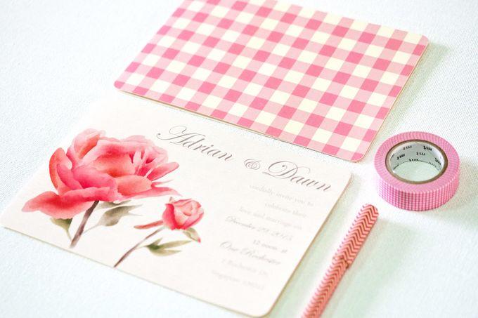 Wedding Invitation by Faith Creative Studio - 001