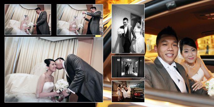 Wedding day of Shawn & Tanty by Shangri-La Hotel Singapore - 006