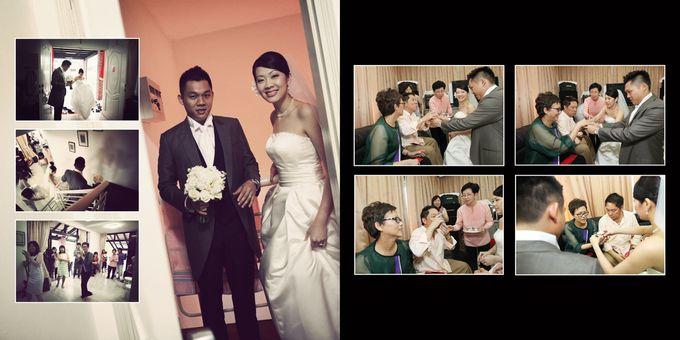 Wedding day of Shawn & Tanty by Shangri-La Hotel Singapore - 007