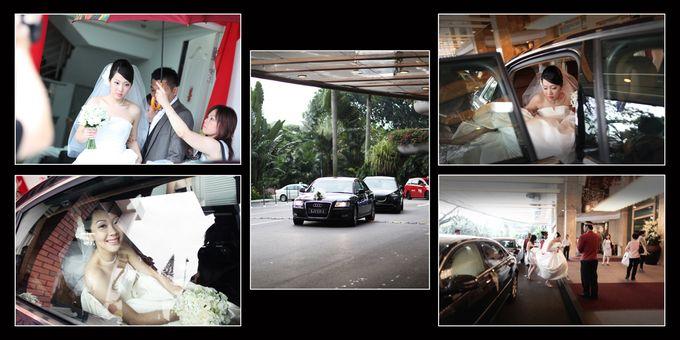 Wedding day of Shawn & Tanty by Shangri-La Hotel Singapore - 008