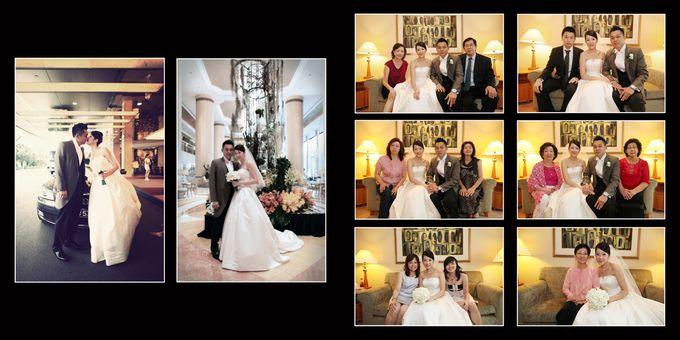 Wedding day of Shawn & Tanty by Shangri-La Hotel Singapore - 009