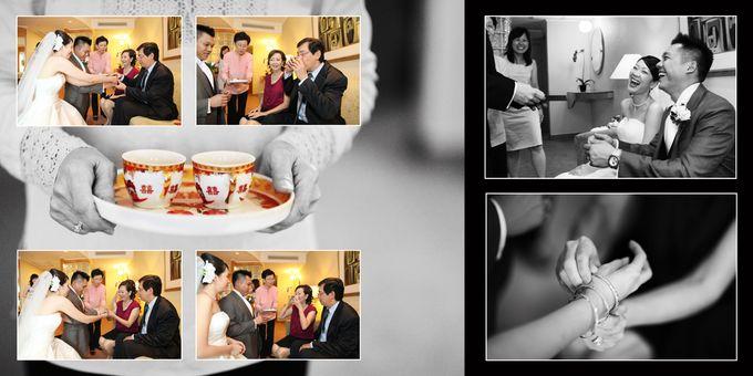 Wedding day of Shawn & Tanty by Shangri-La Hotel Singapore - 010