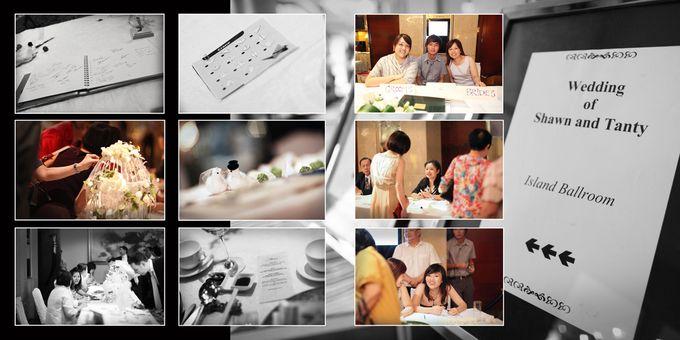 Wedding day of Shawn & Tanty by Shangri-La Hotel Singapore - 011