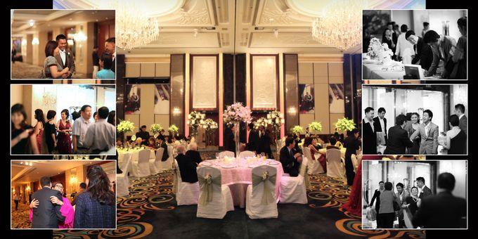 Wedding day of Shawn & Tanty by Shangri-La Hotel Singapore - 012