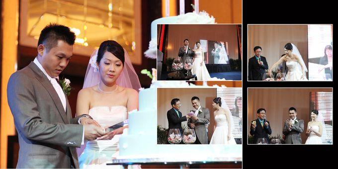 Wedding day of Shawn & Tanty by Shangri-La Hotel Singapore - 014