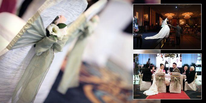 Wedding day of Shawn & Tanty by Shangri-La Hotel Singapore - 015