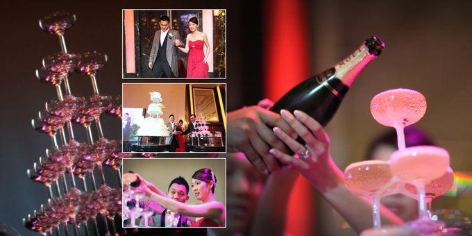 Wedding day of Shawn & Tanty by Shangri-La Hotel Singapore - 017