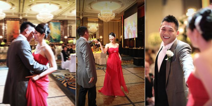 Wedding day of Shawn & Tanty by Shangri-La Hotel Singapore - 019