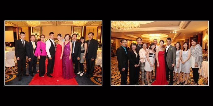 Wedding day of Shawn & Tanty by Shangri-La Hotel Singapore - 020