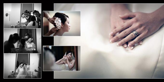 Wedding day of Shawn & Tanty by Shangri-La Hotel Singapore - 002