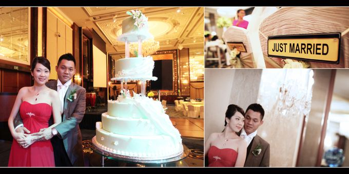 Wedding day of Shawn & Tanty by Shangri-La Hotel Singapore - 021