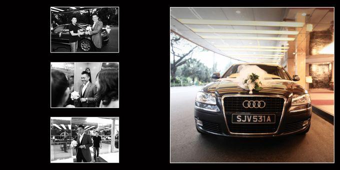 Wedding day of Shawn & Tanty by Shangri-La Hotel Singapore - 004