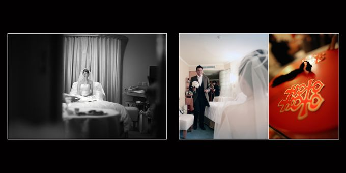 Wedding day of Shawn & Tanty by Shangri-La Hotel Singapore - 005