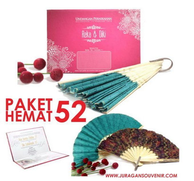 Add To Board Paket Hemat Undangan & Souvenir 50-100 by juragan wedding invitations - 002