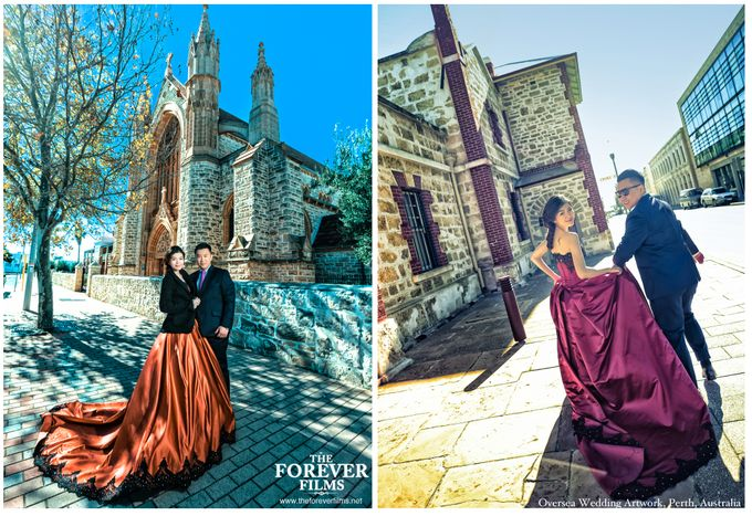 Oversea Wedding Artwork - Perth Australia by The Forever Films - 005