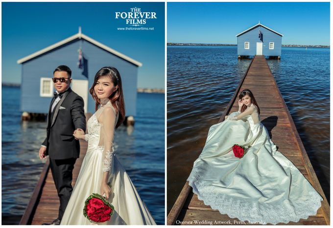 Oversea Wedding Artwork - Perth Australia by The Forever Films - 006