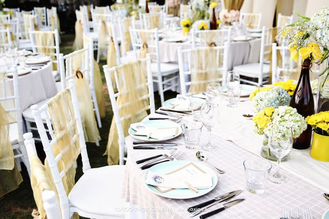Sunny Side Wedding by STEVE'S DECOR - 002