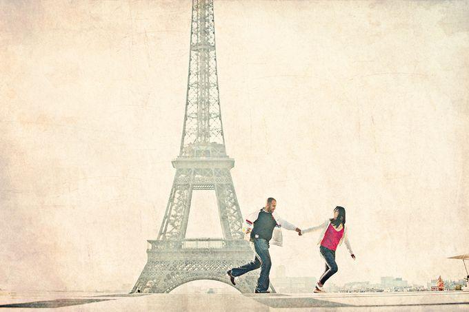 Paris Pre Wedding by Vey Gallery - 010