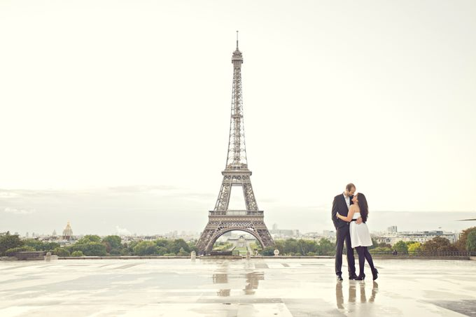 Paris Pre Wedding by Vey Gallery - 012