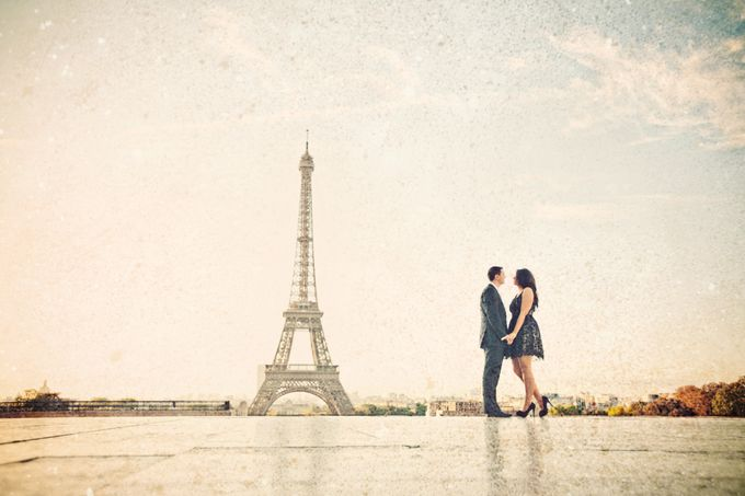 Paris Pre Wedding by Vey Gallery - 014